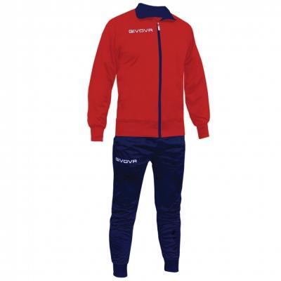 Trening sport TUTA TORINO Givova rosu albastru