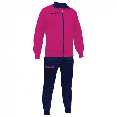 Trening sport TUTA TORINO Givova roz fucsia albastru