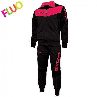 Trening TUTA VISA Trening sport FLUO Givova negru roz fucsia