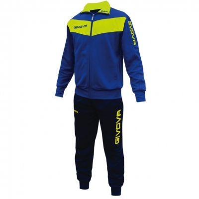 Trening TUTA VISA Trening sport FLUO Givova albastru galben fosforescent
