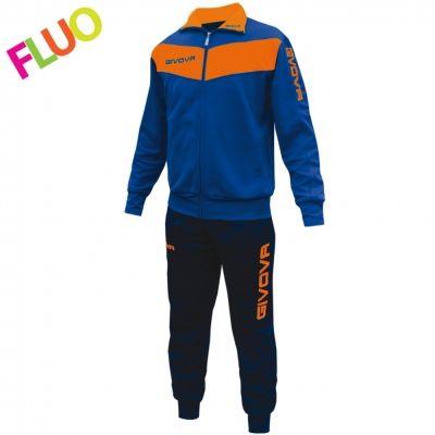 Trening TUTA VISA Trening sport FLUO Givova albastru portocaliu fosforescent
