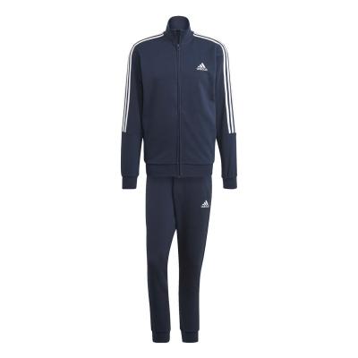 Treninguri adidas 3 cu dungi pentru Barbati bleumarin alb