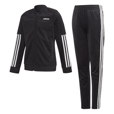 Treninguri adidas 3-Stripes cu fermoar negru alb