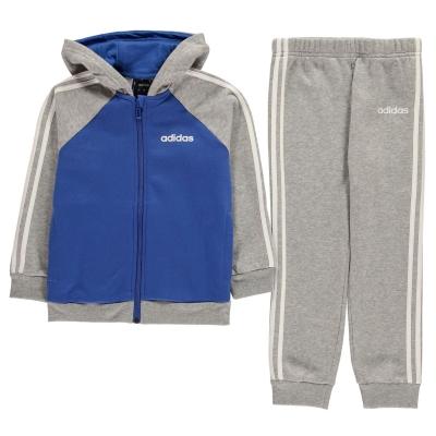 Treninguri adidas 3-Stripes Jogger pentru Copii gri bleumarin