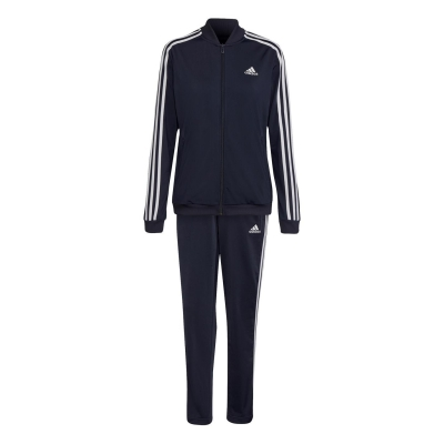 Treninguri adidas Back 2 Basics 3-Stripes pentru femei legend albastru