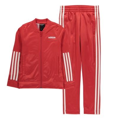 Treninguri adidas Back 2 Basics pentru fete rosu alb