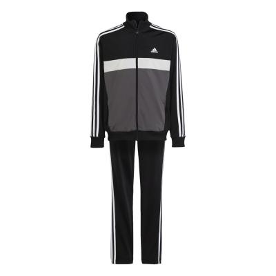 Treninguri adidas Essentials Tiberio pentru baieti negru gri alb