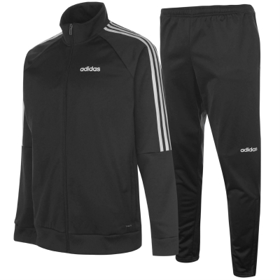 Treninguri adidas Essentials Sereno pentru baietei negru alb