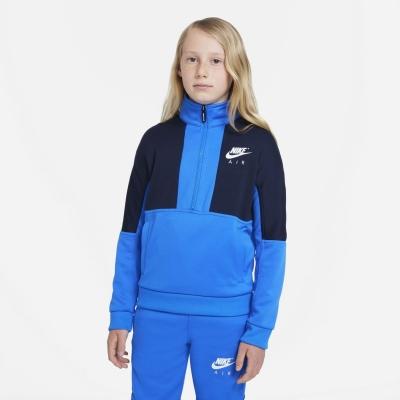 Treninguri Nike Air Big pentru Copii albastru alb