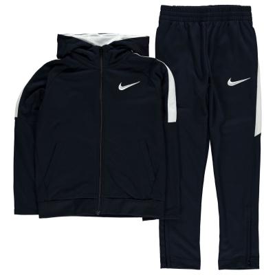 Treninguri Nike cu gluga baietei bleumarin