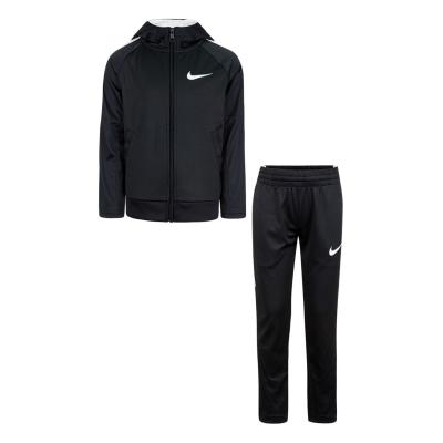 Treninguri Nike cu gluga baietei negru