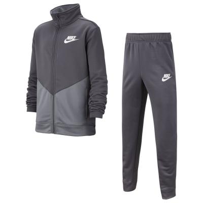 Treninguri Nike NSW Poly Juniors gri