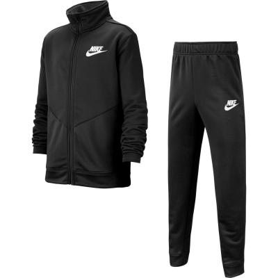 Treninguri Nike NSW Poly Juniors negru