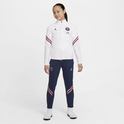 Treninguri Nike Paris Saint Germain x Jordan Strike 2021 2022 pentru copii alb bleumarin