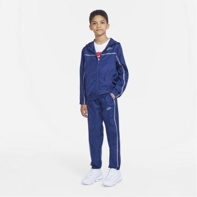 Treninguri Nike Sportswear Big Woven pentru Copii bleumarin gri
