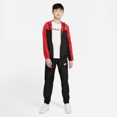 Treninguri Nike Sportswear Big Woven pentru Copii negru rosu