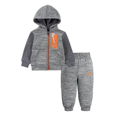 Treninguri Nike Therma CB pentru baieti pentru Bebelusi gri carbon deschis