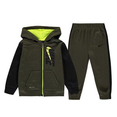 Treninguri Nike Therma CB pentru baieti pentru Bebelusi cargo kaki