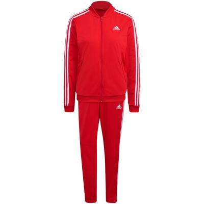 Treninguri Treninguri Adidas Essentials 3-Stripes rosu H10157 pentru femei