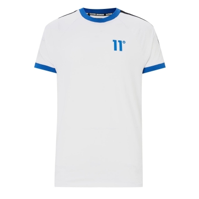 Tricou 11 Degrees 11 Degrees Taped Muscle alb