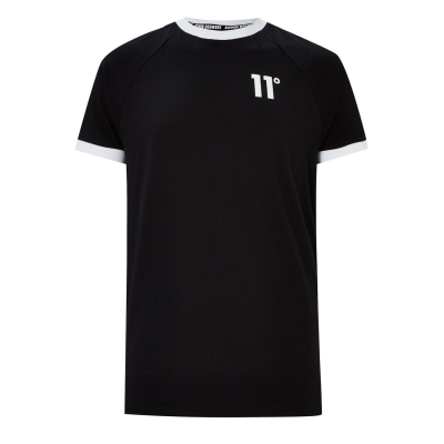 Tricou 11 Degrees 11 Degrees Taped Muscle negru