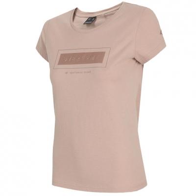 Tricou 4F Light roz H4L21 TSD034 56S pentru femei