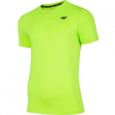 Tricou 4F Lush verde Neon NOSH4 TSMF002 45N pentru Barbati