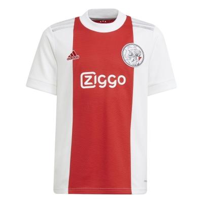 Tricou Acasa adidas Ajax 2021 2022 pentru copii alb rosu