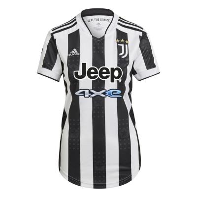 Tricou Acasa adidas Juventus 2021 2022 pentru Femei alb negru
