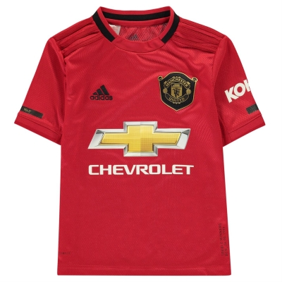 Tricou Acasa adidas Manchester United 2019 2020 pentru copii rosu
