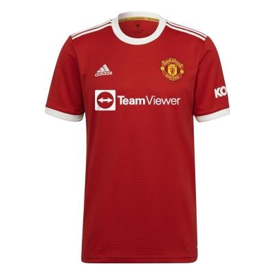 Tricou Acasa adidas Manchester United 2021 2022 rosu