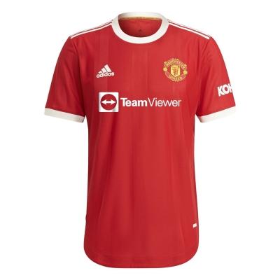 Tricou Acasa adidas Manchester United Authentic 2021 2022 rosu