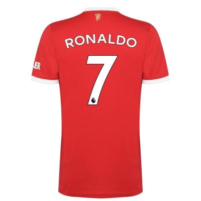 Tricou Acasa adidas Manchester United Cristiano Ronaldo 2021 2022 rosu