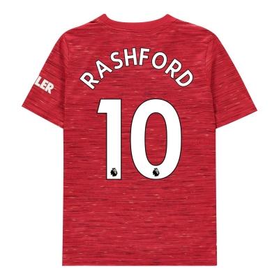 Tricou Acasa adidas Manchester United Marcus Rashford 2020 2021 pentru copii rosu