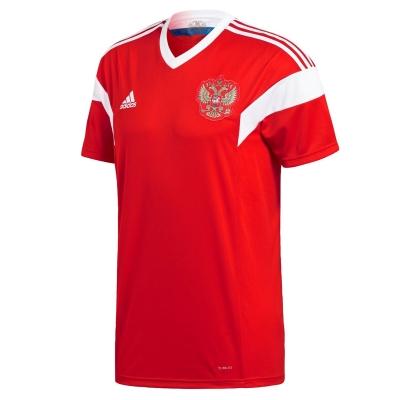 Tricou Acasa adidas Rusia 2018 rosu alb