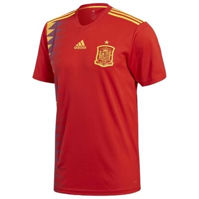Tricou Acasa adidas Spania 2018 rosu auriu