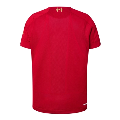 Tricou Acasa New Balance Official Liverpool Champions 2020 pentru copii rosu
