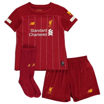 Set New Balance Liverpool Acasa 2019 2020 rosu pepper