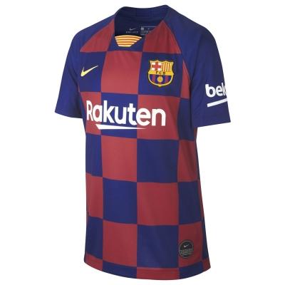 Tricou Acasa Nike Barcelona 2019 2020 pentru copii albastru roial