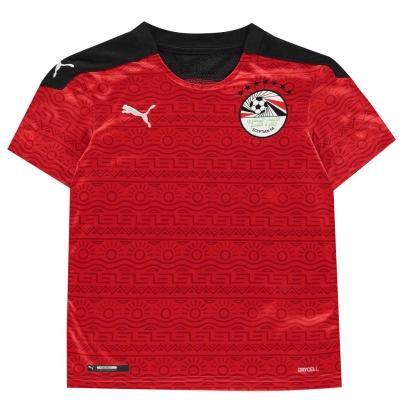 Tricou Acasa Puma Egipt 2020 pentru copii rosu alb