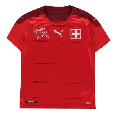Tricou Acasa Puma Elvetia 2020 pentru copii rosu