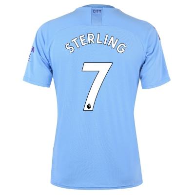 Tricou Acasa Puma Manchester City Raheem Sterling 2019 2020