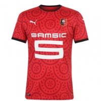 Tricou Acasa Puma Stade Rennais 2020 2021 rosu negru