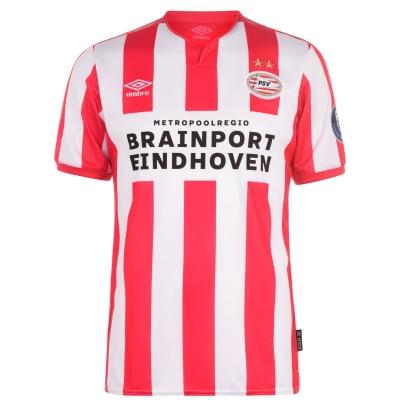 Tricou Acasa Umbro PSV Eindhoven 2019 20 pentru Barbati rosu alb