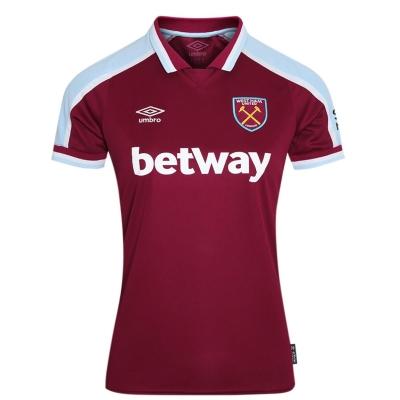 Tricou Acasa Umbro West Ham United 2021 2022 pentru Femei visiniu albastru