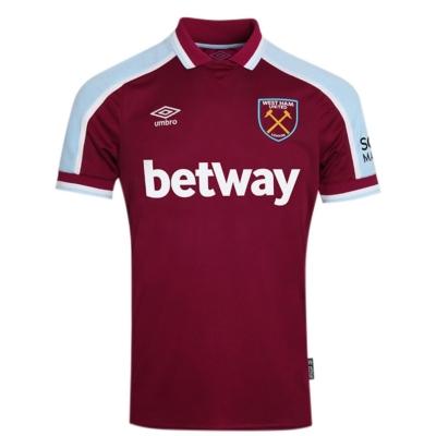 Tricou Acasa Umbro West Ham United 2021 2022 visiniu albastru