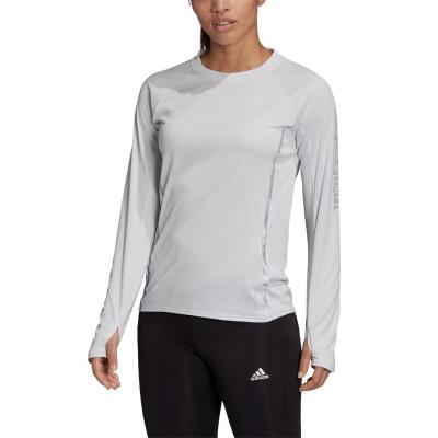 Tricou adidas alergare Reflective pentru femei dash gri