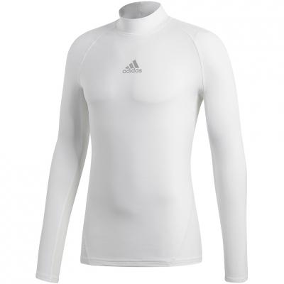 Tricou Adidas ASK SPR cu maneca lunga TEE Climawarm alb DP5536