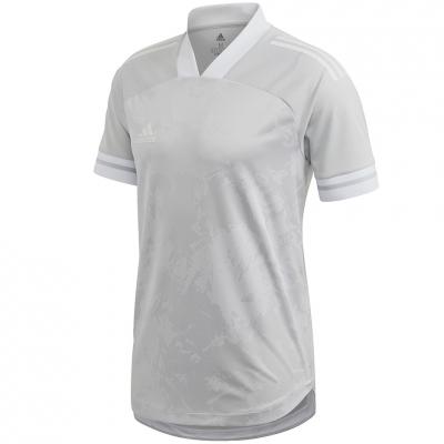 Tricou Adidas Condivo 20 gri-alb FT7262 pentru Barbati