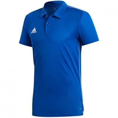 Tricou adidas CORE 18 POLO albastru CV3590 barbati